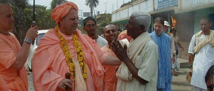 How can we receive the benediction from the holy dham when we are doing Navadvip parikrama?